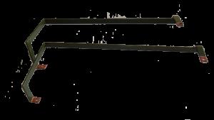 Kupferschienen mit Polyäthylen-Beschichtung